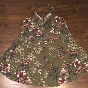 🍂FALL OLIVE DRESS